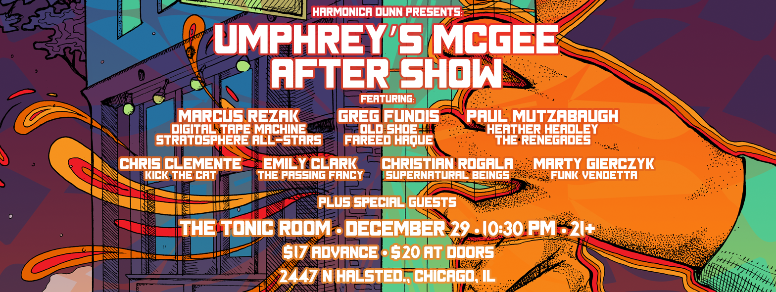 Preview & Ticket Giveaway | UM Afterparty with Marcus Rezak & Friends 12/29/16