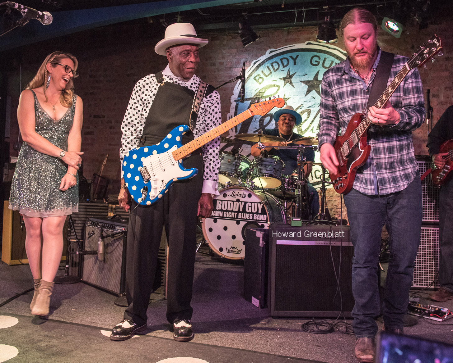 PHOTOS / VIDEO | Derek & Susan Join Buddy Guy Late Night at Legends 1/21/17