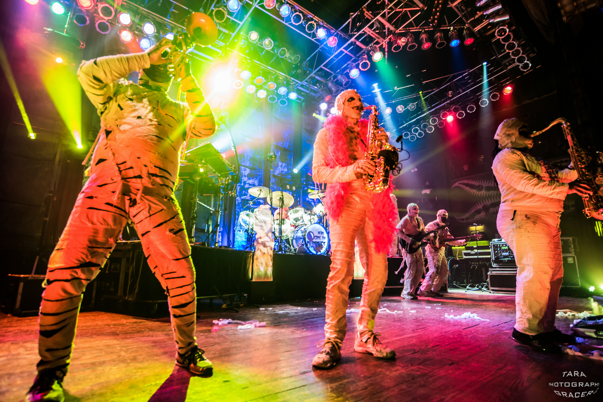 Photos | Here Come The Mummies & The North 41 @ House Of Blues 2/18/17