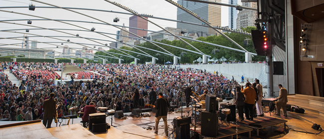 Millenium Park Summer Music Series Announces Performers