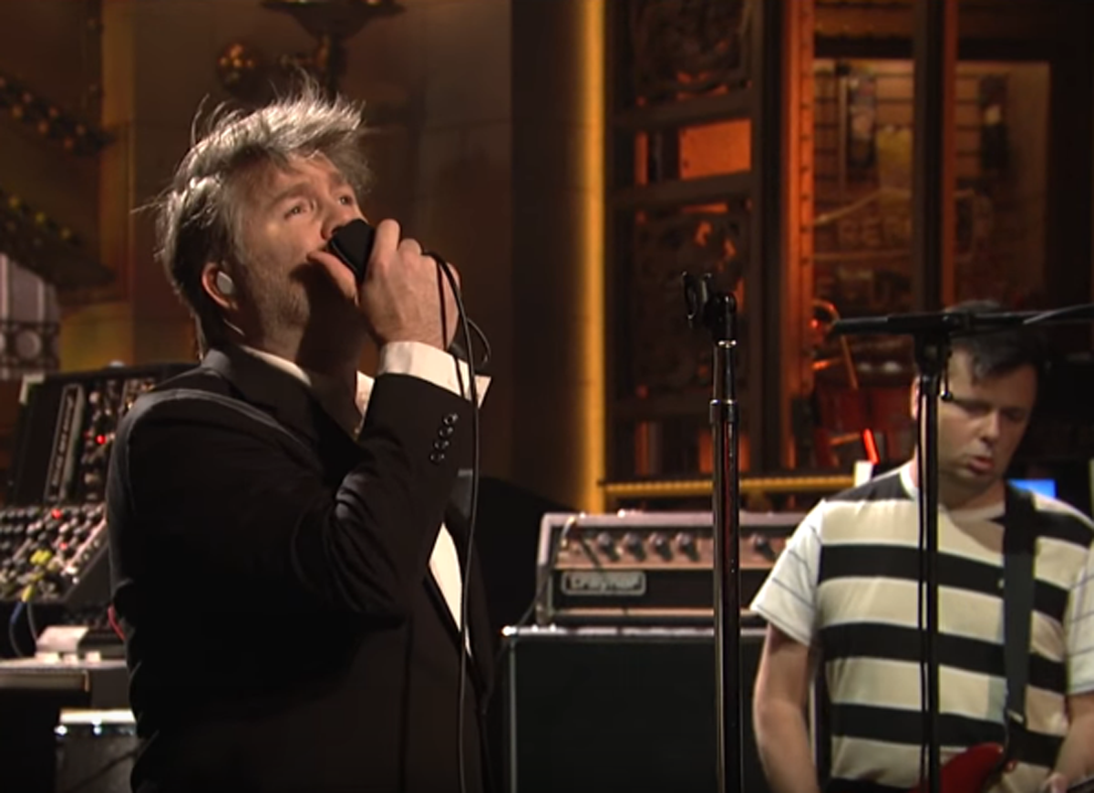LCD Soundsystem Performs On Saturday Night Live