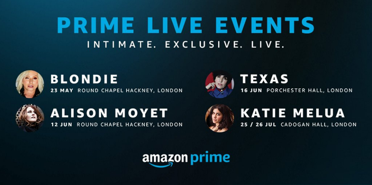 Amazon Prime Begins Offering Exclusive, Intimate Concerts For Prime Members