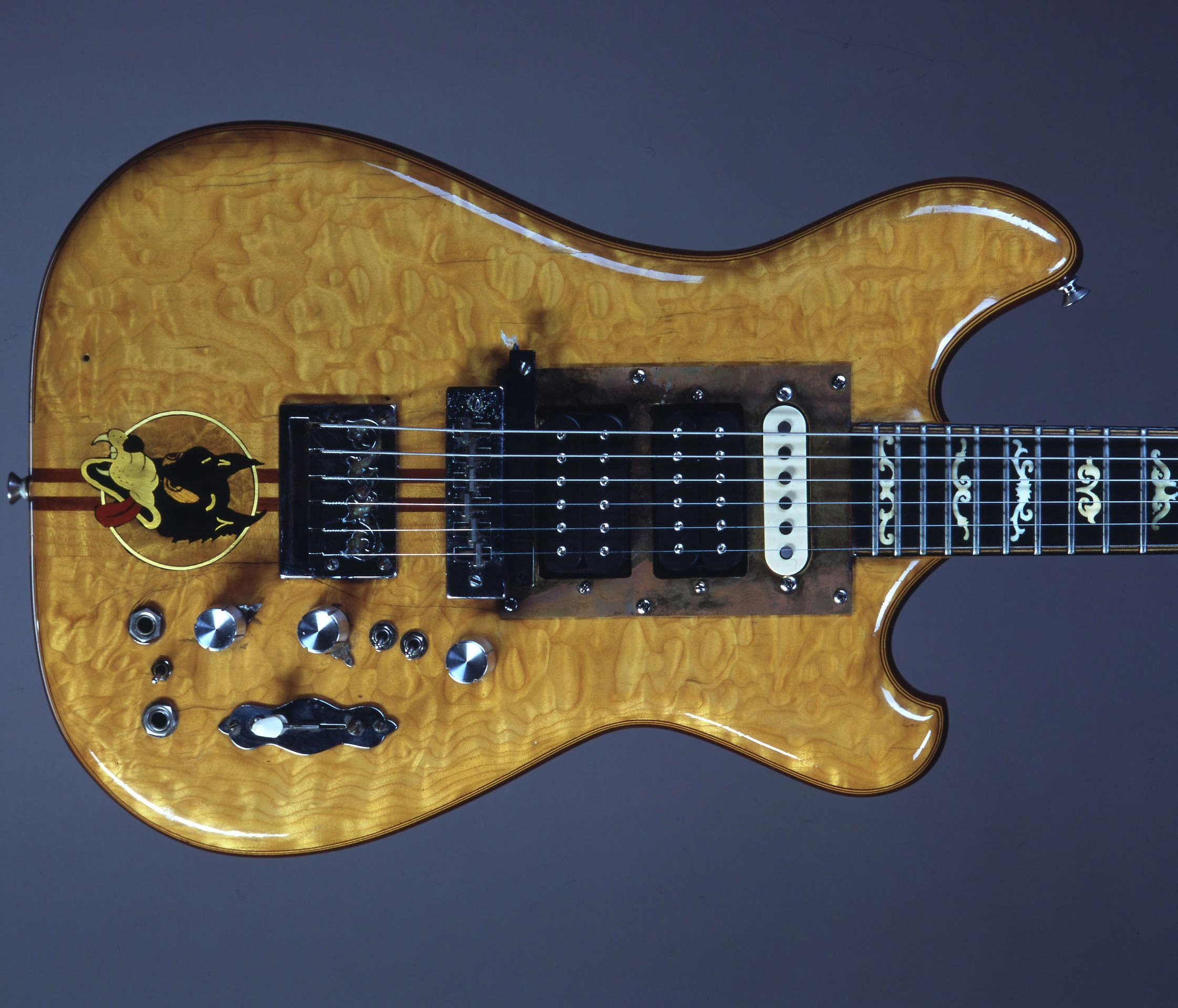 Jerry Garcia's Wolf Guitar Sold For $1.9 Million