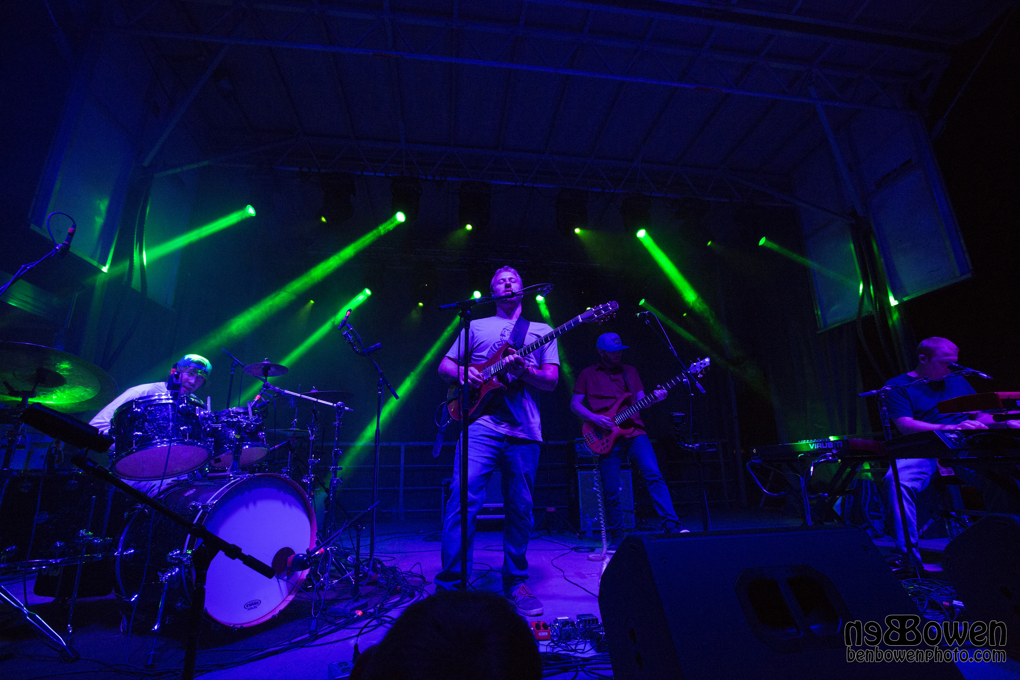 Spafford Breaks In New Drummer At Summer Camp [Photos/Video]