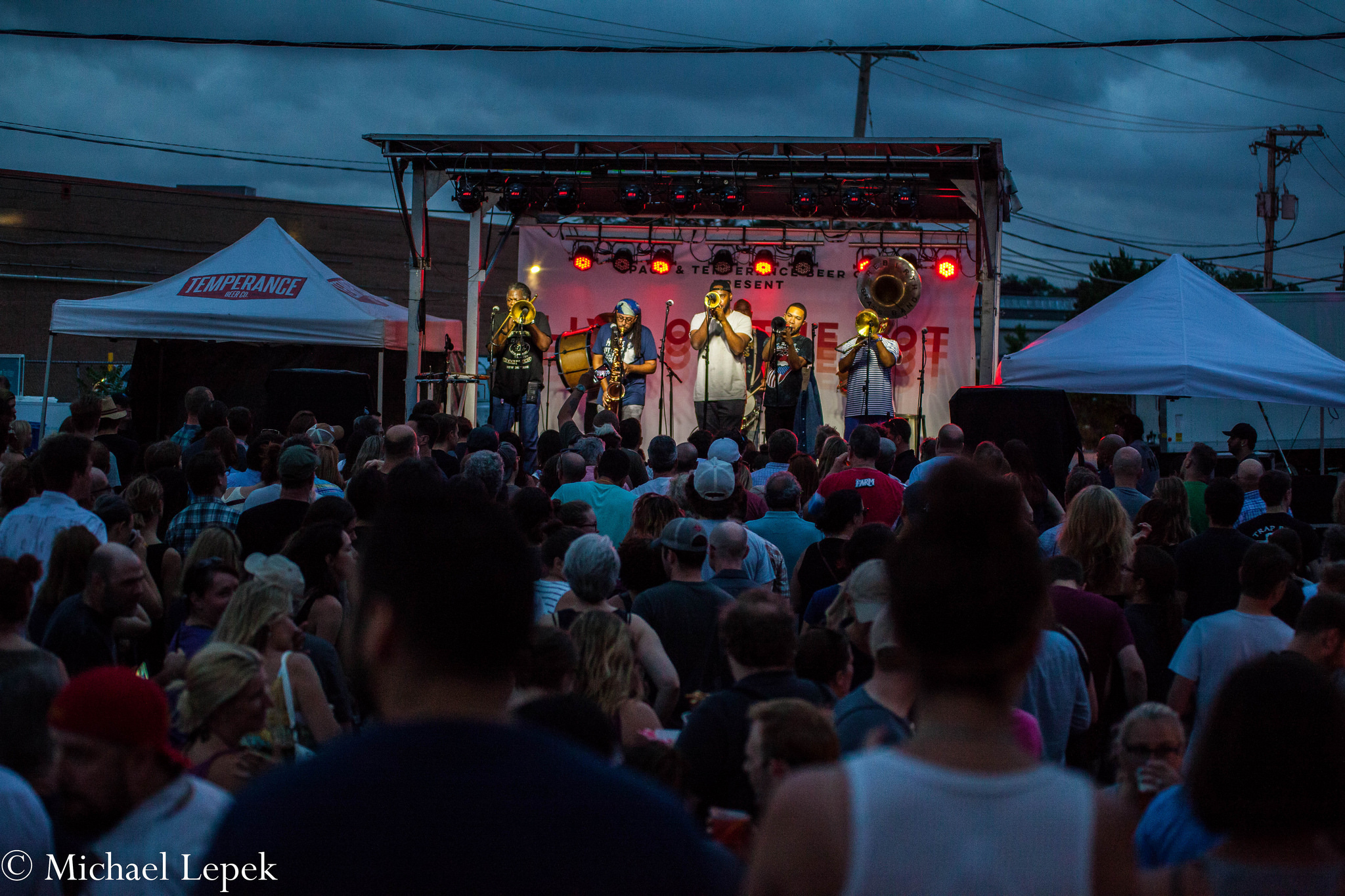 Rebirth Brass Band Highlights 'Live On The Lot' Debut At Temperance Brewing