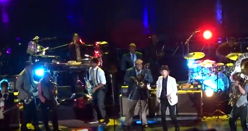 On TV | Beck and Preservation Hall Jazz Band Collaborate At Red Rocks