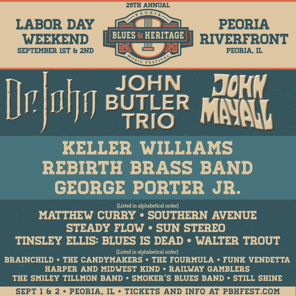 FESTIVAL WATCH | Peoria Blues & Heritage Festival