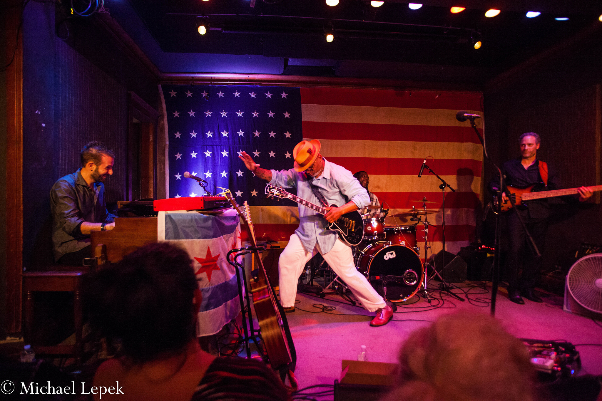 Toronzo Cannon Returns For Bluesday Tuesday at Fitzgerald's