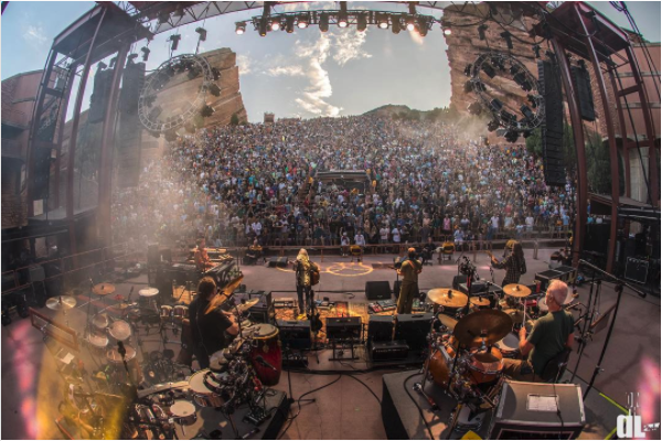 String Cheese Incident Celebrates Colorado at Red Rocks [Review / Video]