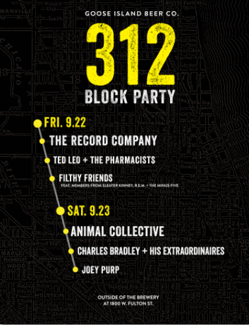 FESTIVAL WATCH | Goose Island 312 Block Party