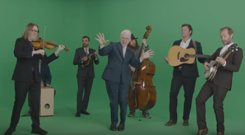 "On TV | Steve Martin and the Steep Canyon Rangers' ""Caroline"""