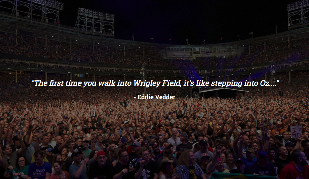 Details Emerge For Pearl Jam's Wrigley Field Documentary, Let's Play Two