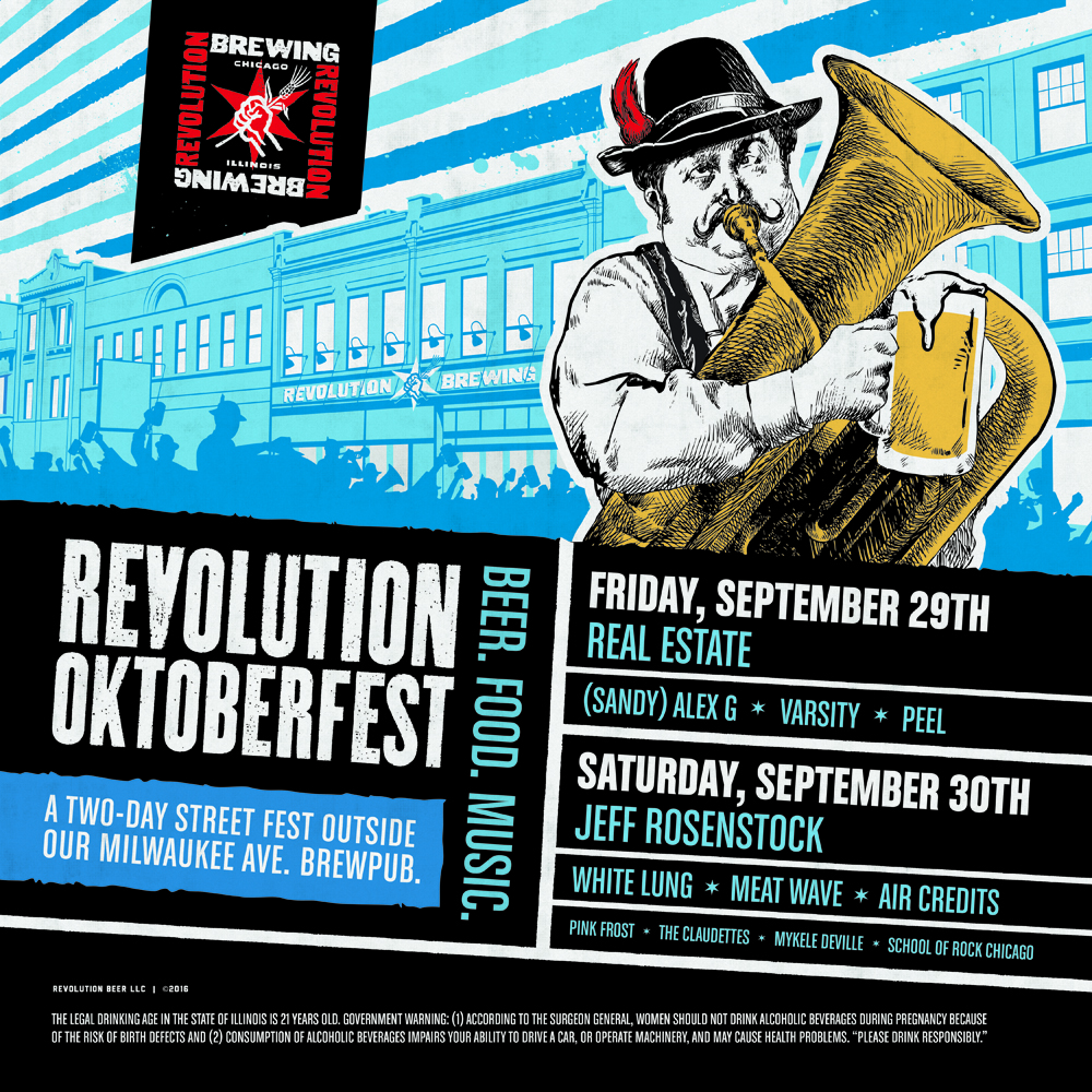 FESTIVAL WATCH | Revolution Oktoberfest
