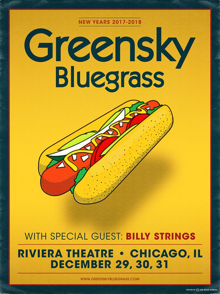 Greensky Bluegrass Announces 3 Night Chicago NYE Run, Kalamazoo Thanksgiving