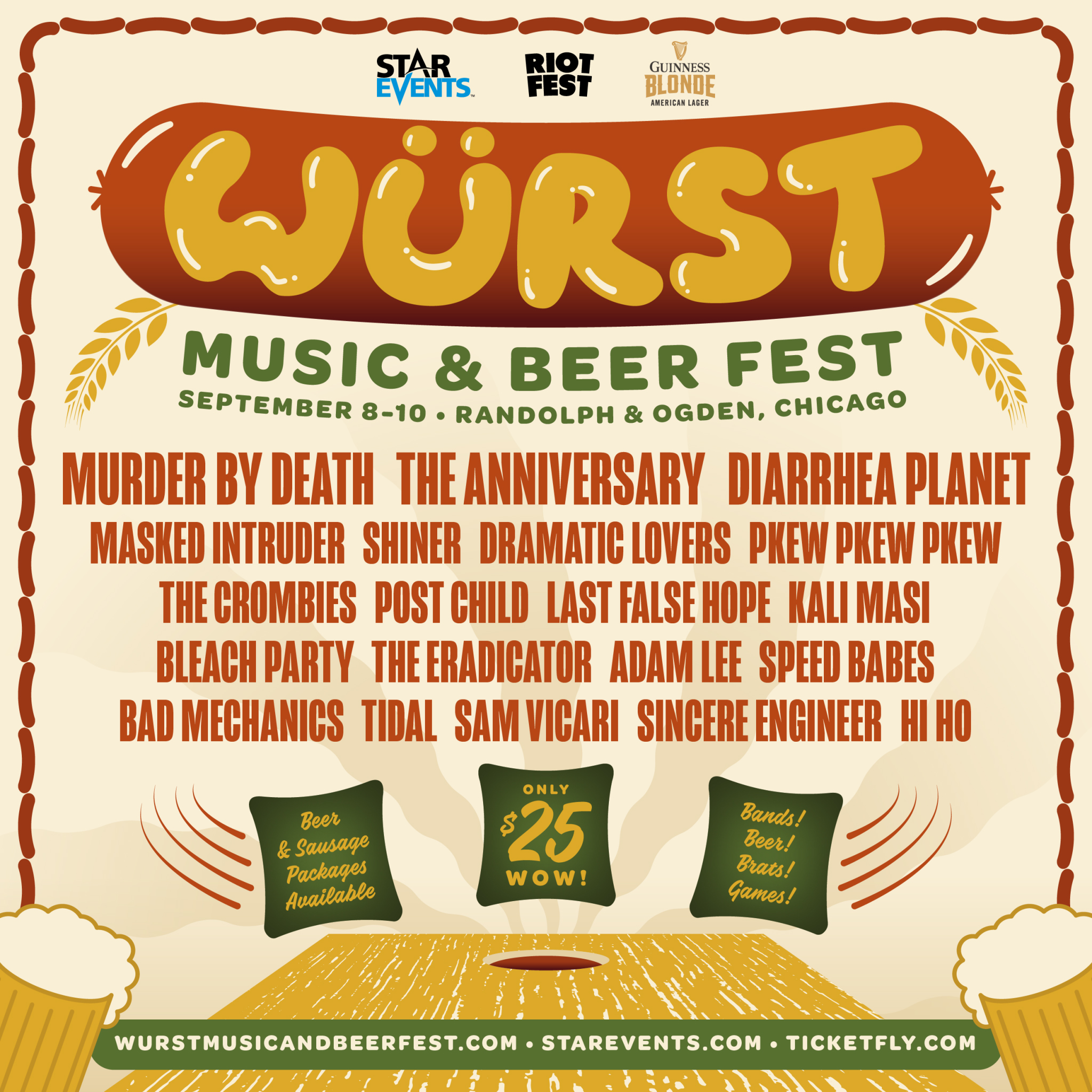 FESTIVAL WATCH | Würst Music And Beer Fest