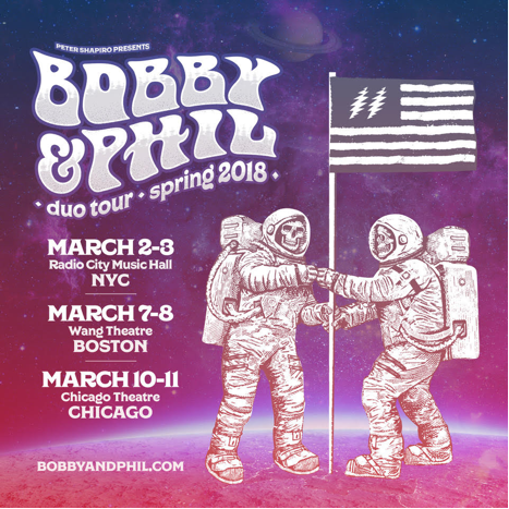 Bobby & Phil Will Close A Six Date Duo Tour With A Pair Of Chicago Shows