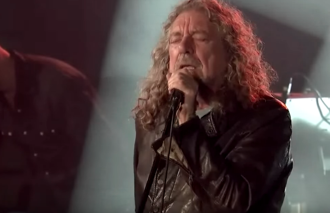 "On TV | Robert Plant Performs Zeppelin's ""In The Light"" For First Time In 15 Years"