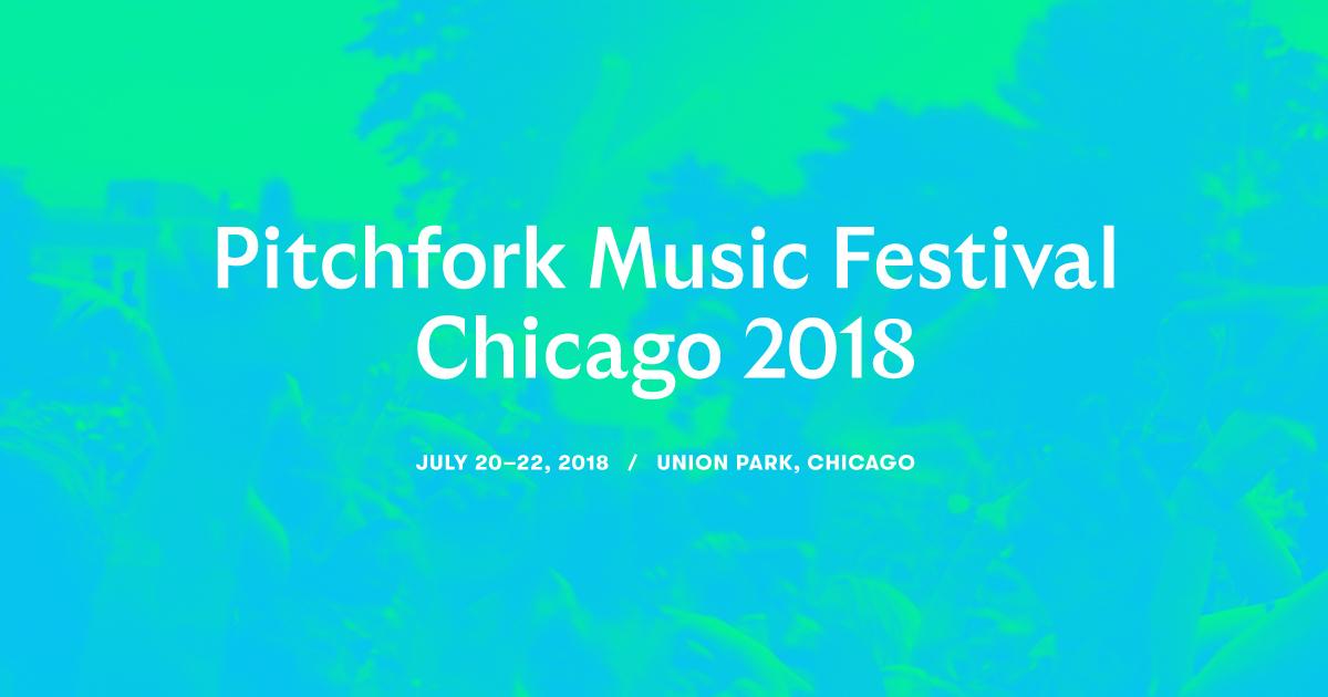 Pitchfork Music Festival Announces Initial Lineup