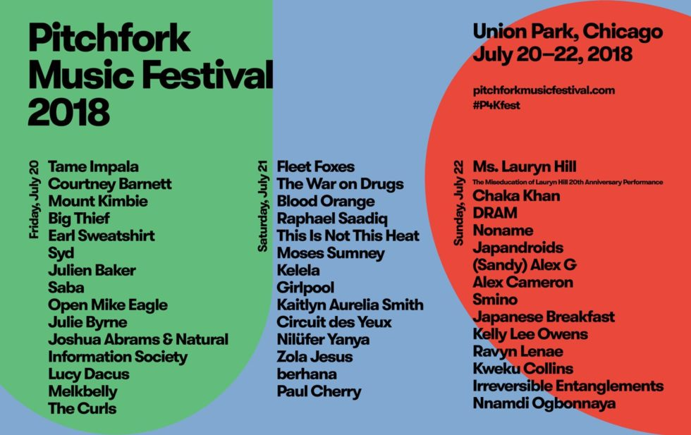 Festival Watch | Pitchfork Music Festival