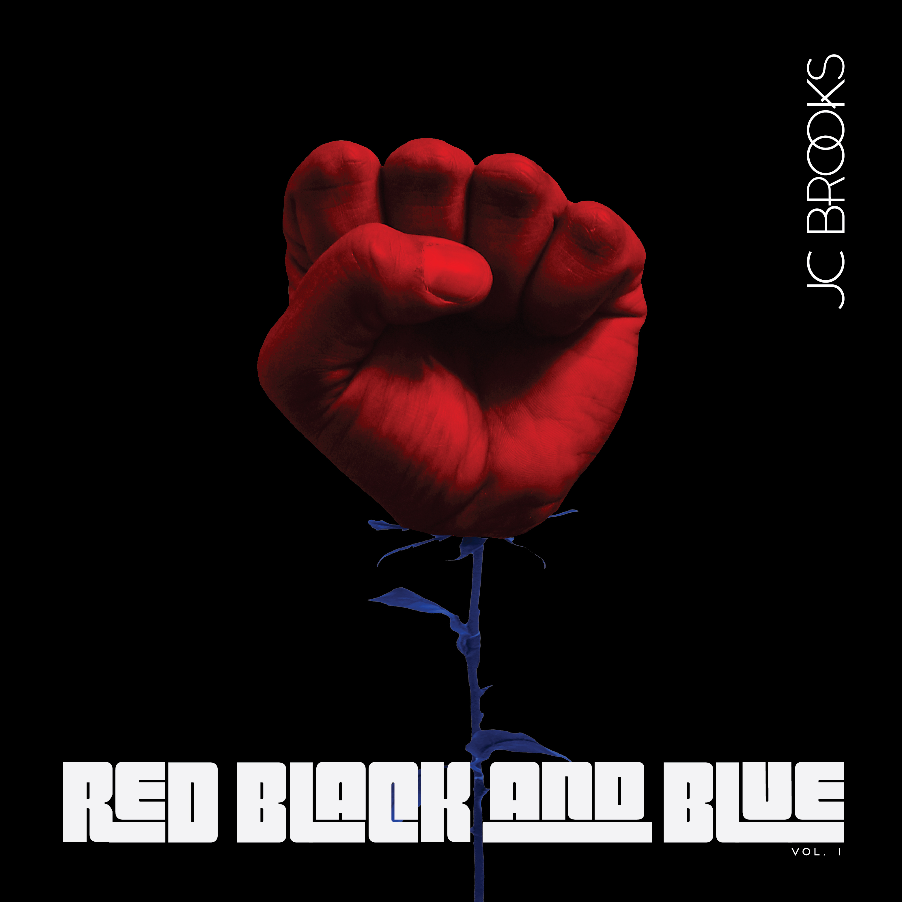 PREMIERE | JC Brooks Band - Red Black + Blue EP
