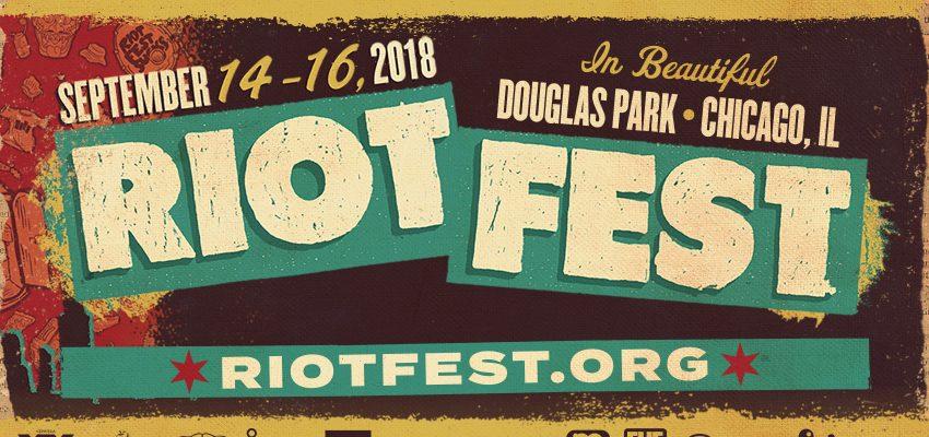 Riot Fest Announces Initial 2018 Lineup