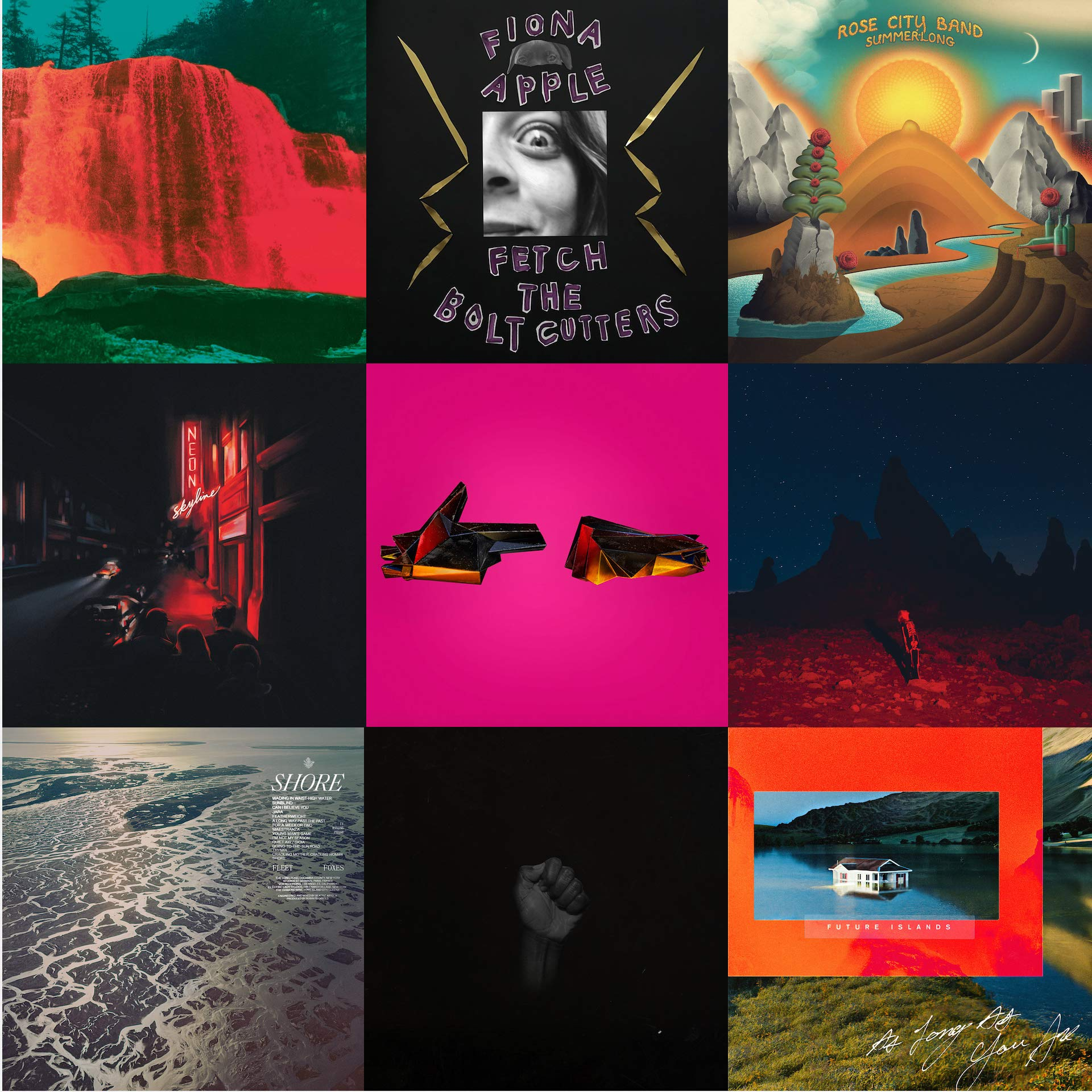 Alex's Top 100 Albums of 2020