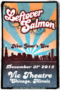 Leftover Salmon, Lee Boys Playing Vic Theater For New Year's Eve 2012-2013
