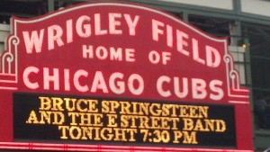 Setlist, Audio Stream & Download, Video: Bruce Springsteen & The E-Street Band, Wrigley Field, Chicago, IL 9/8/12
