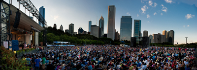 Chicago Jazz Fest Panorama