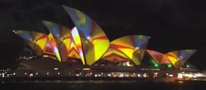 Sydney Opera House Projection