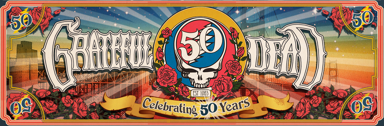 Music Poster Promo Grateful Dead 50th Anniversary